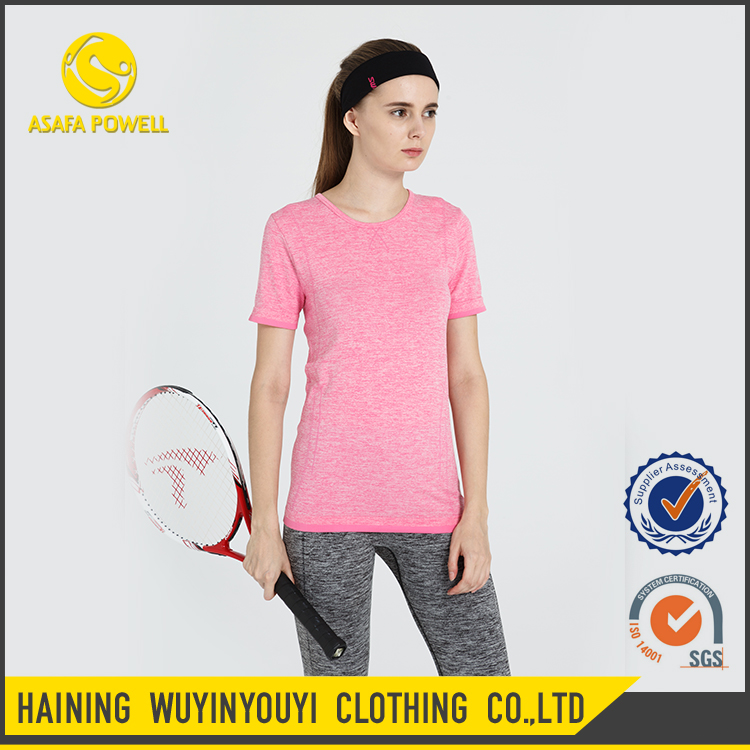 Wholesale ODM OEM Custom Women T Shirt Sports Wear