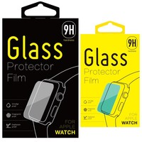 Factory Price paper packing Tempered Glass Screen Protector For Apple Smart watch KJ-398