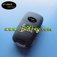 High quality and good price for hyundai ix35 3 button flip remote key with 433MHZ 46 chip
