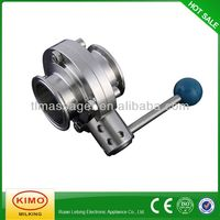 Contemporary Designed Butterfly Valve With Positioner,Butterfly Valve For Milk