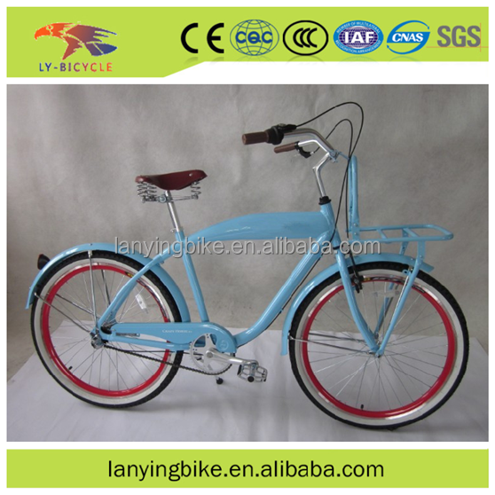 26 aluminum/steel beach cruiser bicycles/Chopper cruiser bicycles for adults