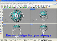Recon industrial design service, 3D Max and Rhino sofware to create product
