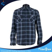 Made in China Cheap soft casual mens flannel shirt