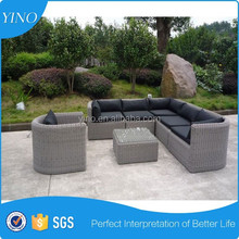 Deluxe rattan lounge furniture sofa sets RZ1516