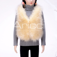 China best manufacturer Children Winter Coat cute faux fur vests for kids SY-998