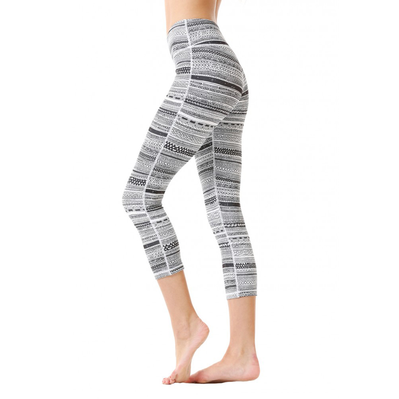 Nylon spandex women fitness tights sexy compression girls yoga leggings sublimated leggings wholesale