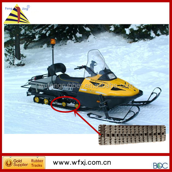 High quality Yamaha snowmobile parts snowmobile rubber track