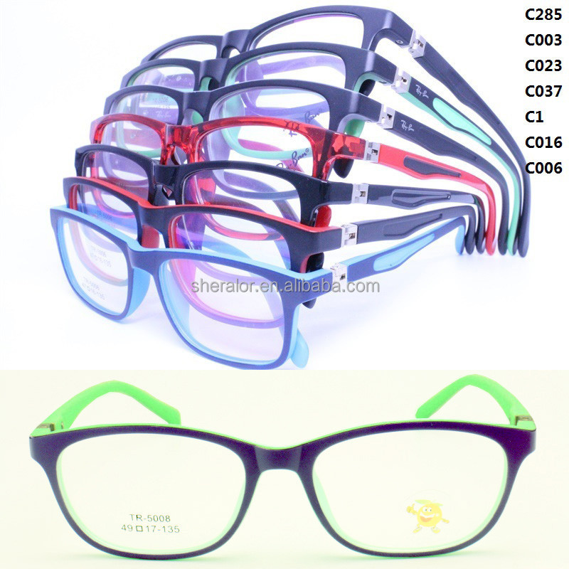 Fast sales TR90 180 degree flexible hinge walkers shape opitcal eyeglass frames for kids
