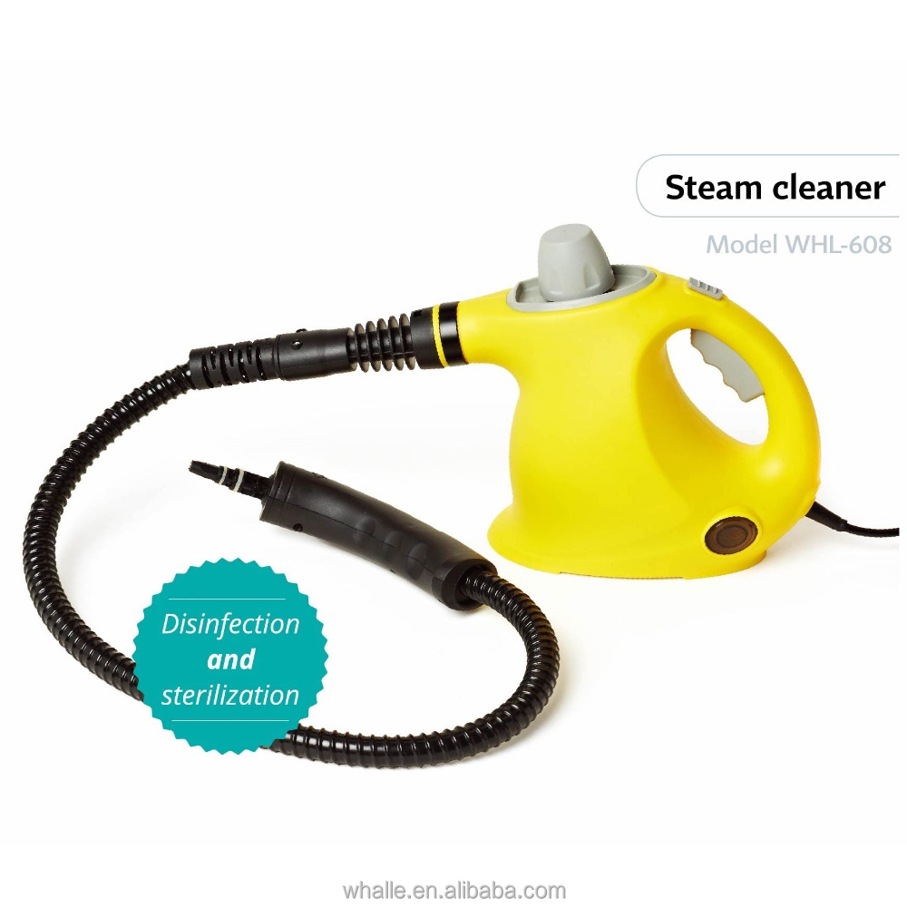 WHALLE WHL-608 Handheld Steam Cleaner .Handheld High Pressure Steam Cleaner as seen on tv