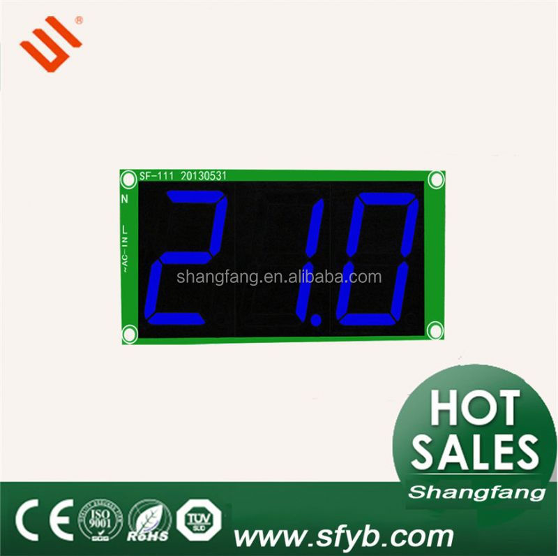 Digital Thermometer Large Screen LED Temperature Display SF-111