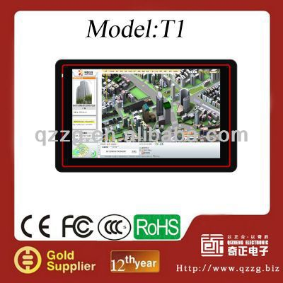 5 inch GPS Navigation with Free map and Bluetooth