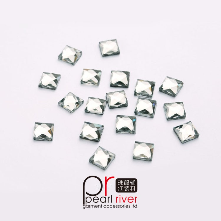 Wholesale flatback round resin 3mm hotfix rhinestone perfect for nail art
