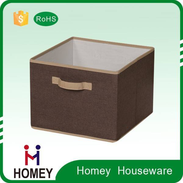 2015 Hot Cheap Good Quality Multi-Purpose Collapsible Polyester Tin Storage Containers