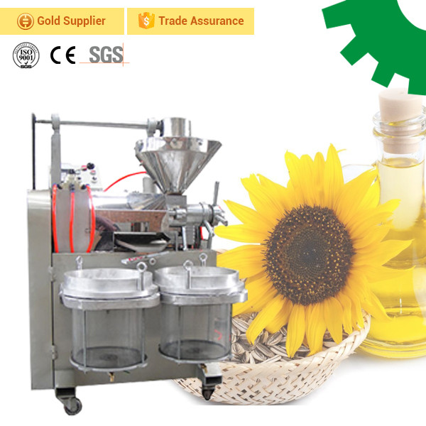 High oil output small coconut sunflower seed oil extraction machine