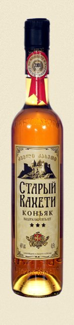 Old Kakheti 3 years old brandy