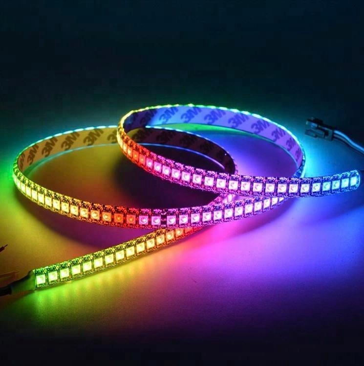 High Quality 144leds <strong>RGB</strong> SMD5050 addressable led strip light
