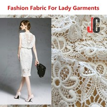 wholesale 100% polyester african lace fabrics ,chemical lace embroidery fabric fashion clothing 2016