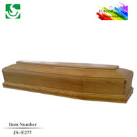 Standard Solid antique wooden coffin