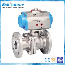 pneumatic automatic long stem ball valve