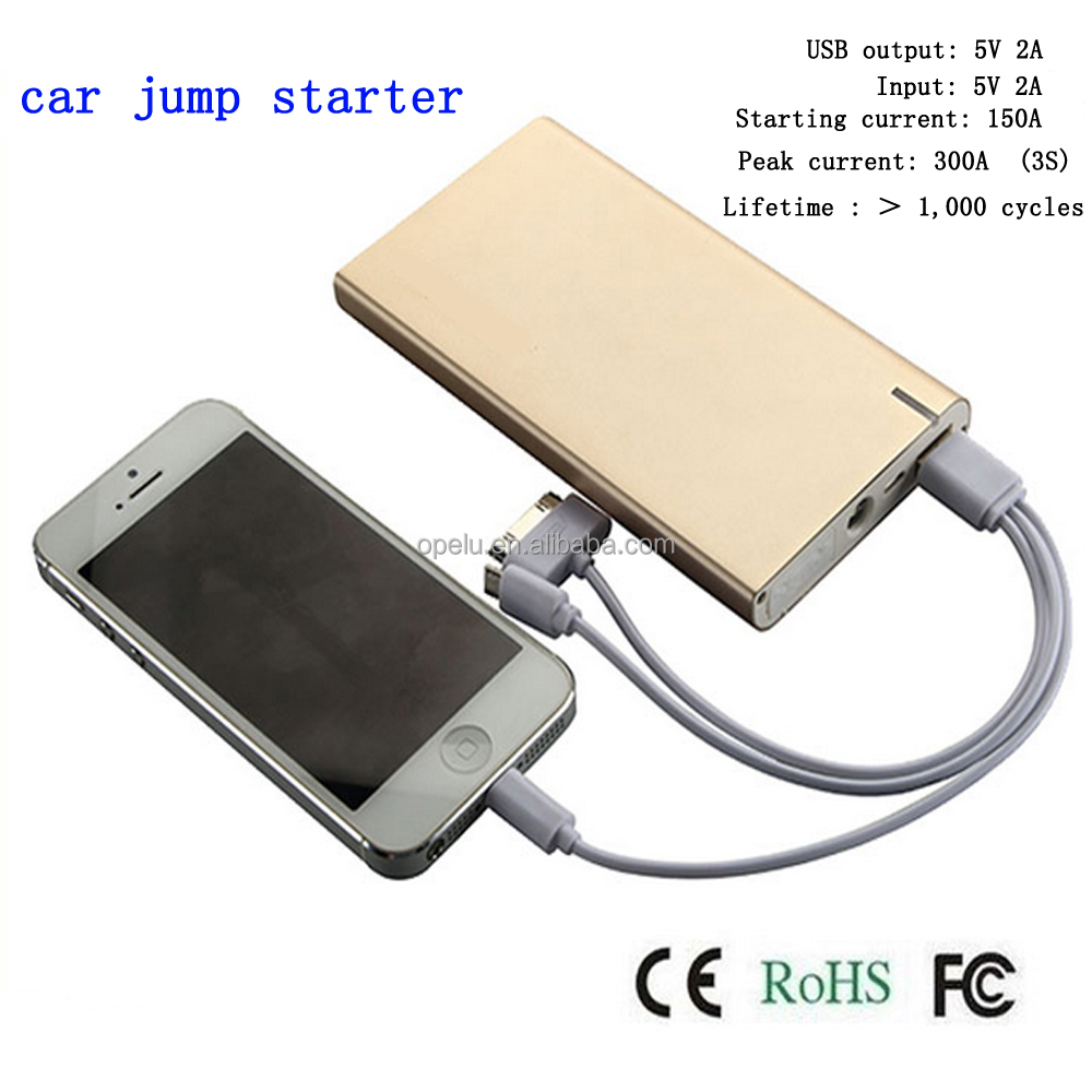 High quality Portable Jumper 6900mAh Mini Size Moveable Power Jump Starter Battery Booster