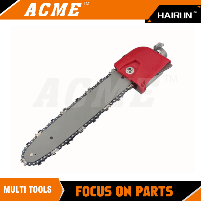 Long Reach Pole Chain saw Pruner Multi Tool Attachment