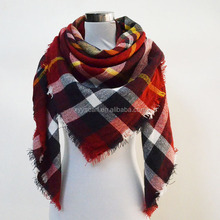 China supplier wholesale square 100% cashmere scarf