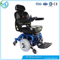Large load weight middle wheels drive chair for handicapped