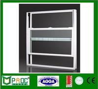 Anodized aluminum frame single hung window repair