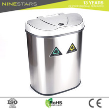 High Quality Waterproof 70l Twin Dustbin