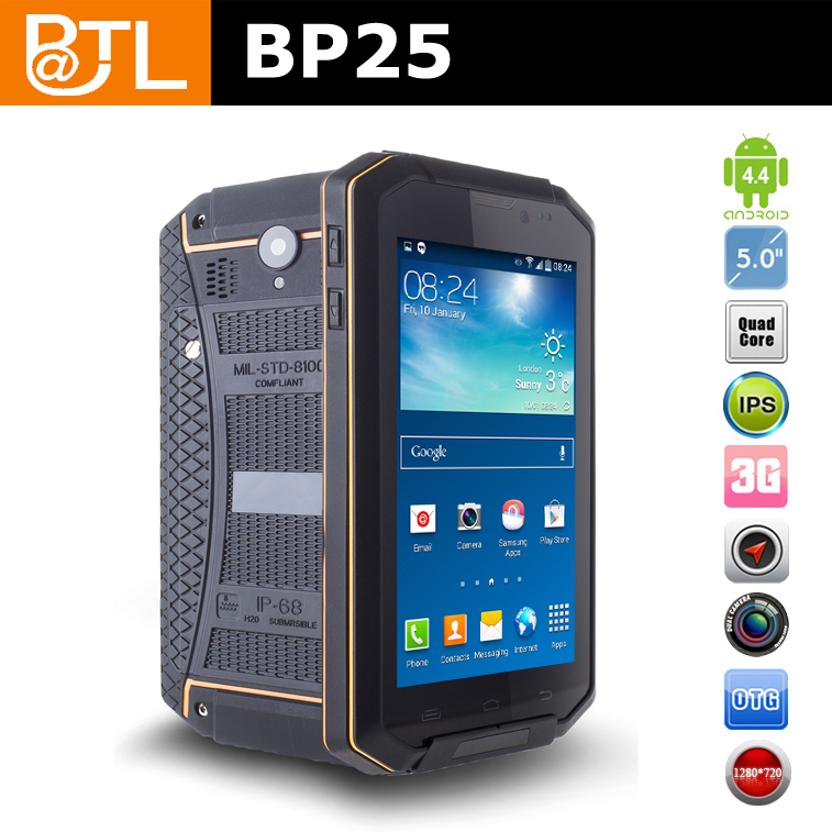 BATL BP25 GPS IP67 best military grade rugged cell phone