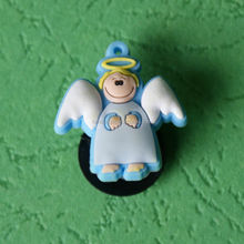 lovely angel custom 3d fridge magnet for tourist