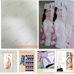 150g A4 Self adhesive photo paper stick on photo albums plain paper(GSB-SAPP35)