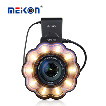 New Arrival Camera Macro LED Ring Flash Light For Digital Camera