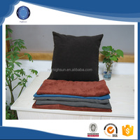 2015 in stock velvet fabric wholesale home outdoor cushion cover