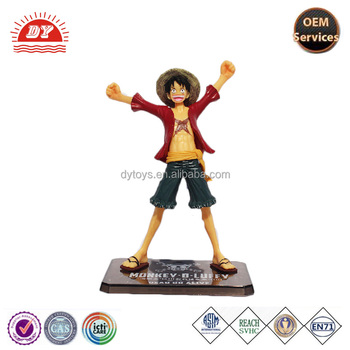 Plastic figurine one piece