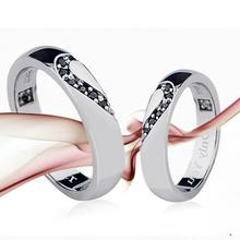 fashion alloy couple love ring wholesale factory