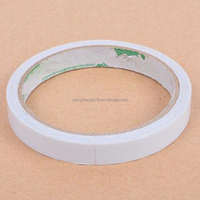Rag paper backing , high adhesion white color double sided adhesive tape