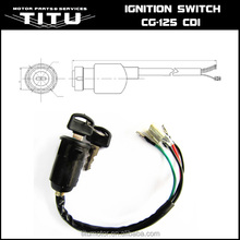China motorcycle ignition switch, main switch for CG125, AX100, BAJAJ BOXER, TVS,CD70 & etc.