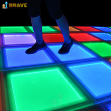 Cheap star led light dance floor