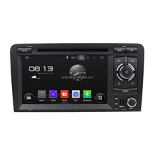 7 Inch Android Touch Screen Car Navigation System for Audi A3 S3 2002-2012 Car DVD Player 3G Wifi iPod TV Bl