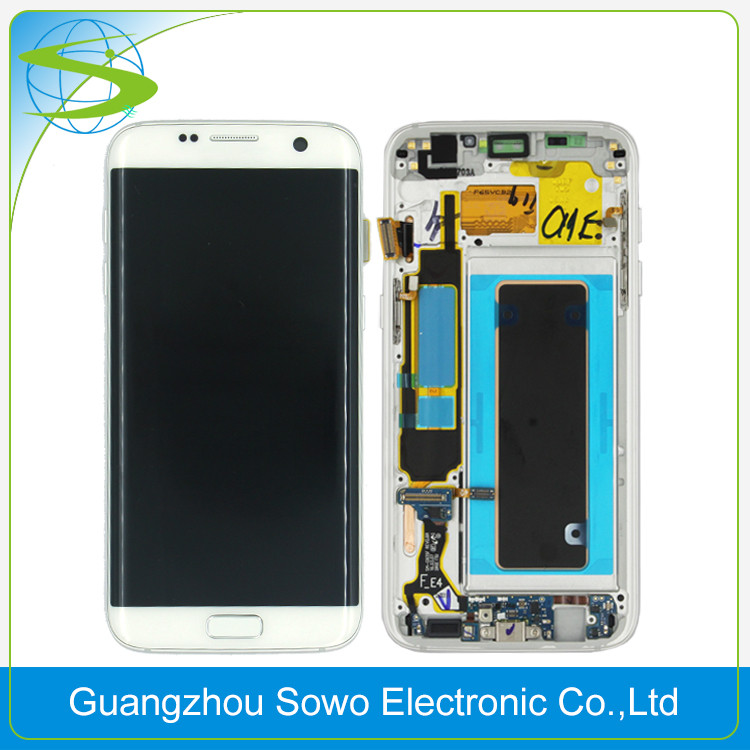 New Arrival 100% original quality for samsung galaxy s7 edge <strong>lcd</strong>