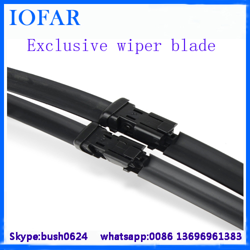 High Performance colored double windshield wiper blade