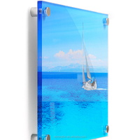 Large Format Printing For Wall Mounted Acrylic Display Board Wholesale