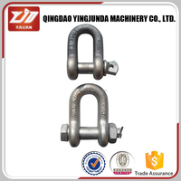 golden supplier US bolt anchor shackle marine D shackle
