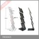 A4 Iron Metal Brochure Holder Stand, Folding Brochure/Catalogue/Literature Holder/stand for brochures
