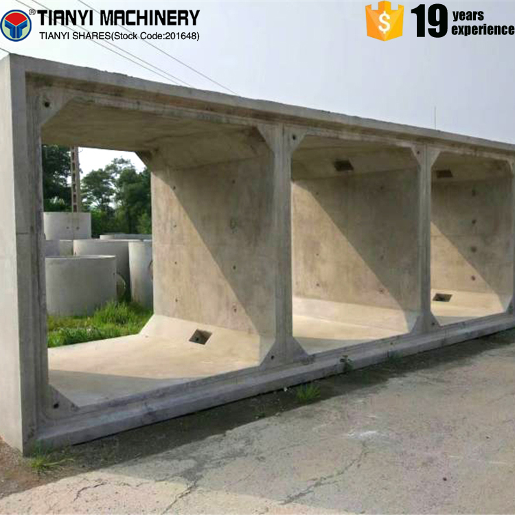2017 hot sale precast concrete boundary wall panel making machine