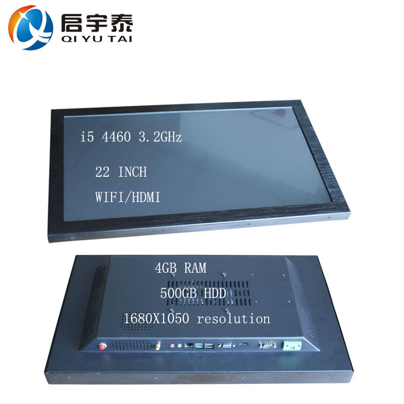 22 inch led touch screen mini pc with 4gb ram Super Slim High Quality