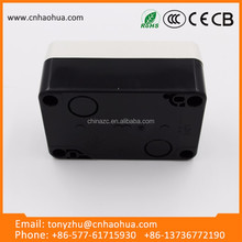 Locking on-off push button switch box CE