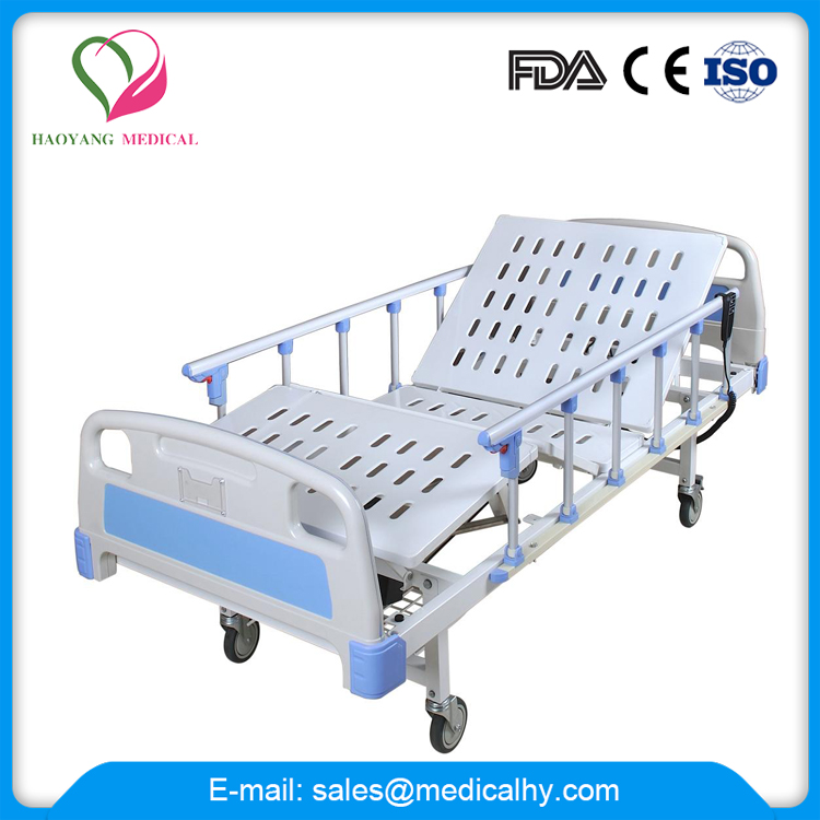 Hot sale height adjustable bed manual hospital bed