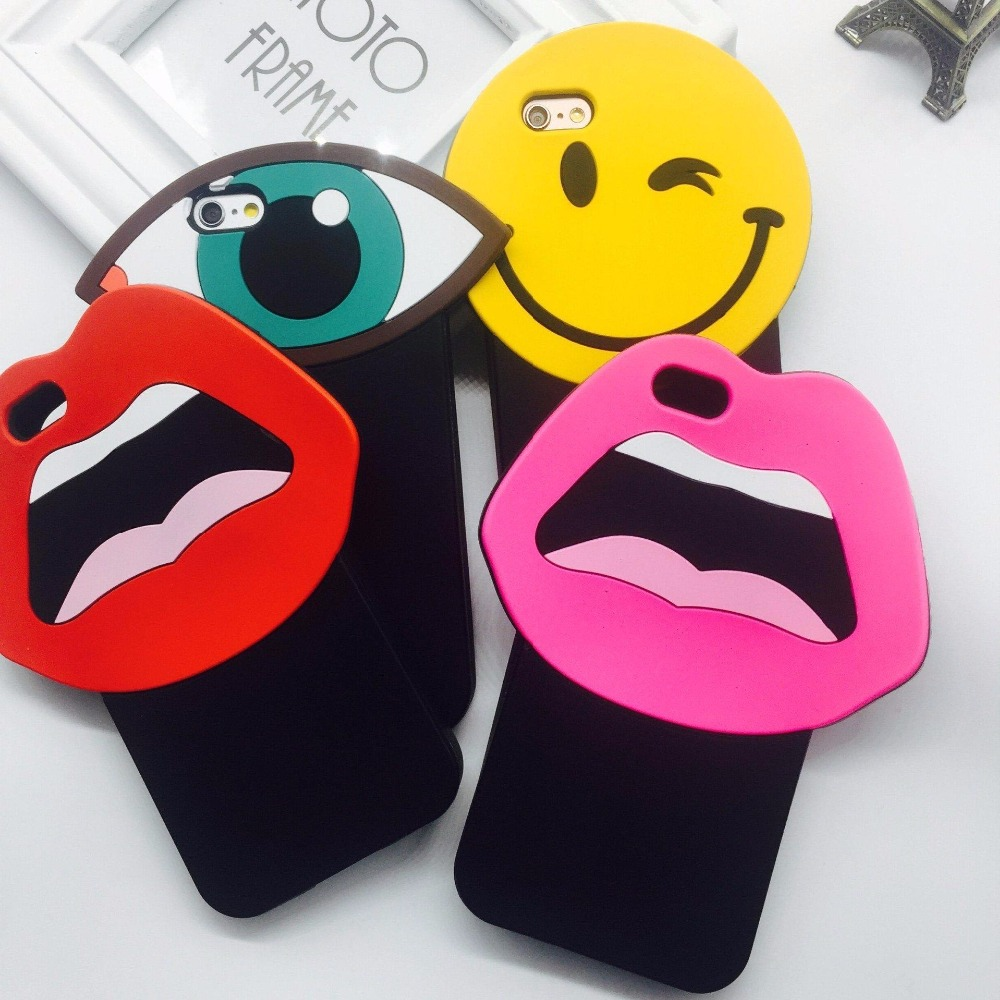Custom 3D Rubber Silicone Cell Phone Case